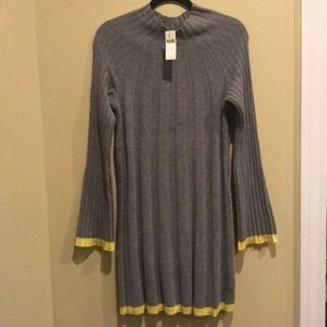 Anthropology Arsenau Sweater Dress